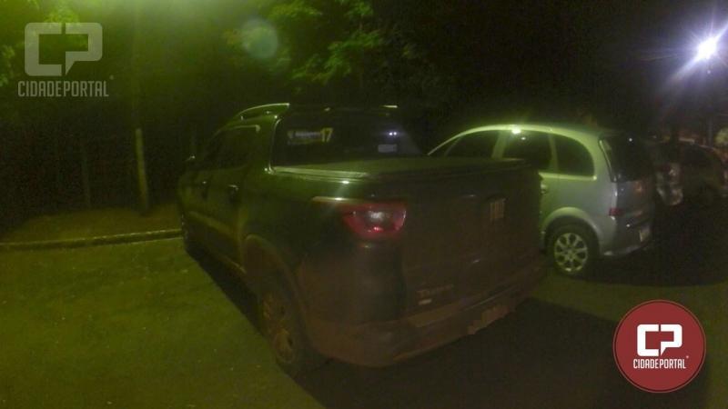 Após roubo em Formosa do Oeste PM recupera Fiat Toro entre Jesuítas e Assis