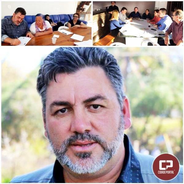 Dirigente sindical e apresentador de televisão filia-se ao PT Chateaubriandense
