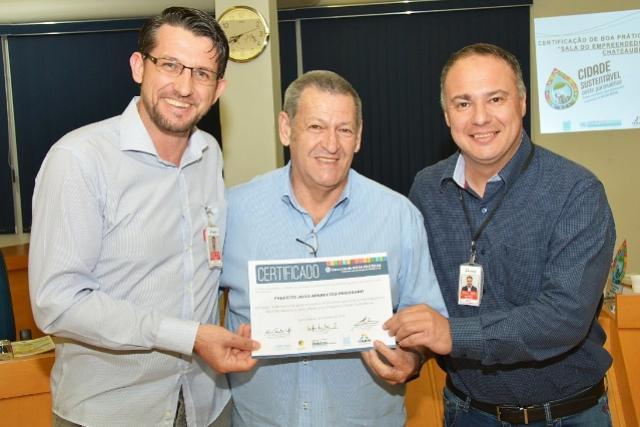 Governo de Assis recebe reconhecimento da Itaipu Binacional