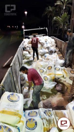 Investigadores da DENARC de Foz do Iguaçu apreende 1 tonelada de maconha em Assis Chateaubriand