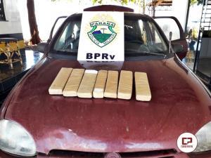 Posto Policial de Assis Chateaubriand apreende veículo com drogas durante patrulhamento