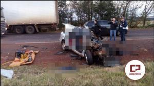 Assis Chateaubriand esta em luto, grave acidente automobilístico ceifa a vida de 4 jovens da comunidade