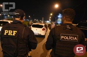 Em ações simultâneas, PRF flagra mais de 80 motoristas bêbados no Paraná