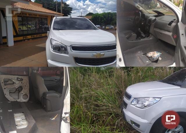 PRE de Palotina recupera veículo com alerta de roubo na cidade de Cianorte