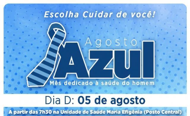 Um mês dedicado á saúde do homem,  Secretaria de Saúde de Assis realiza campanha Agosto Azul