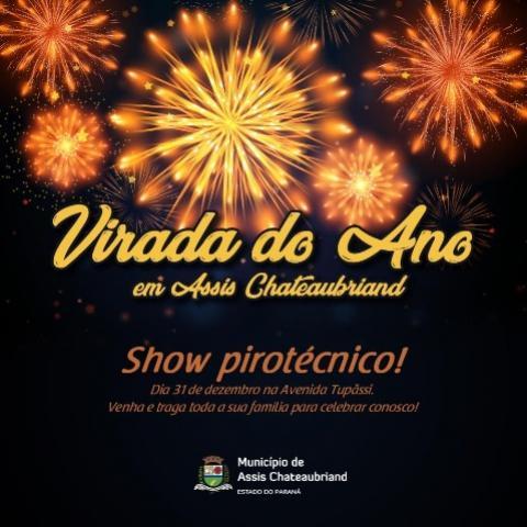 Virada do Ano terá show pirotécnico e Avenida não será bloqueada