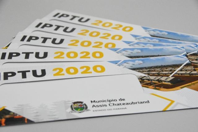 Prefeitura de Assis inicia distribuição dos carnês do IPTU 2020 através dos Correios