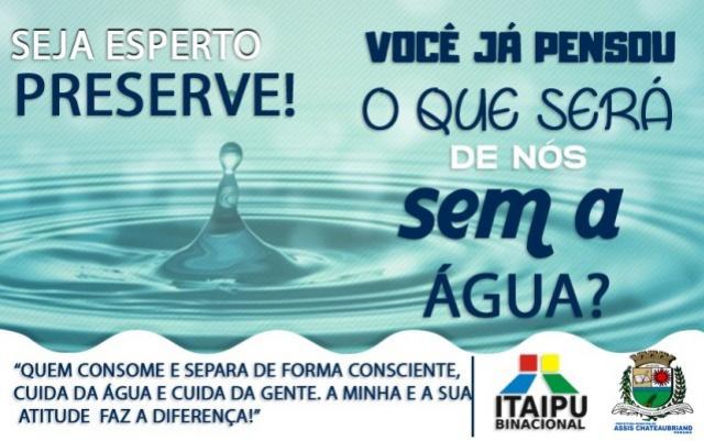 Assis Chateaubriand e Itaipu Binacional iniciam ação educativa