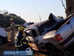 Uma pessoa perde a vida em acidente na saída de Palotina para Assis Chateaubriand