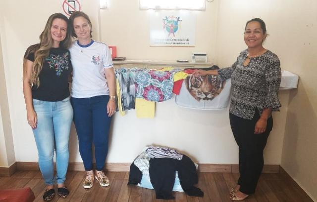 Assistência Social de Assis repassa roupas doadas ao Conselho da Comunidade