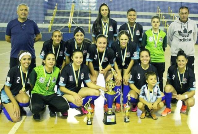 Equipe feminino de Assis conquista 3ª etapa seguida da Copa Feras de Futsal