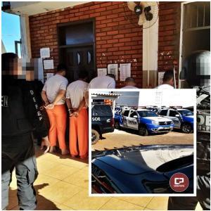 51 presos condenados foram transferidos da Cadeia Pública de Goioerê para penitenciaria de Cruzeiro