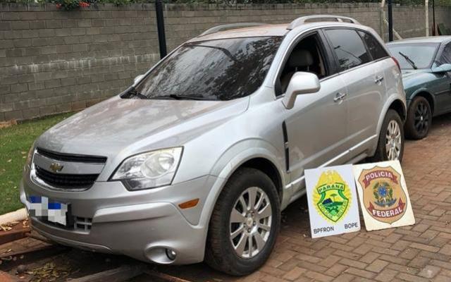 Polícia Federal e BPFron-BOPE-PMPR apreendem dois veículos carregados com cigarros contrabandeados em Terra Roxa