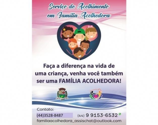 Serviço de Acolhimento em Família Acolhedora na cidade de Assis Chateaubriand