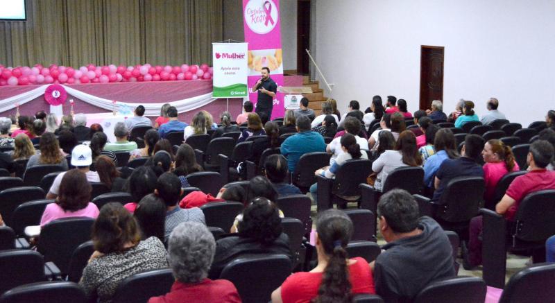 Dia D do Outubro Rosa movimenta centenas de mulheres