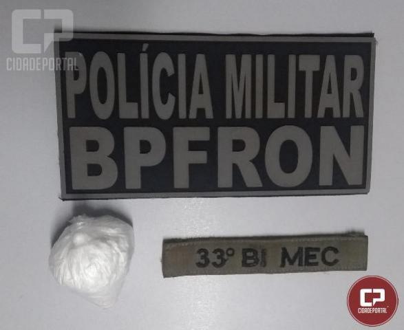 Cocaína é apreendida durante Operação Muralha em Santa Terezinha de Itaipu