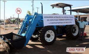 Prefeito Nilson Cardoso de Mariluz entrega veículos para Educação, Agricultura e Polícia Militar