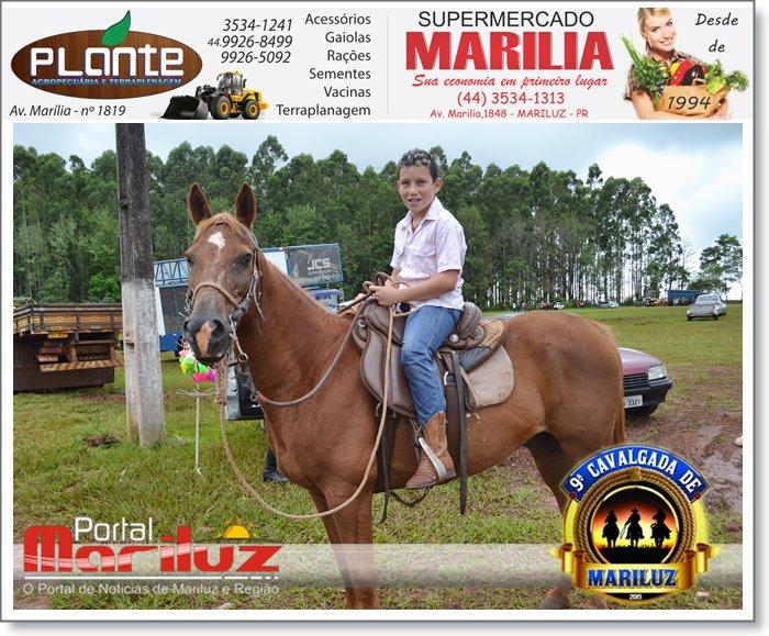 9ª Cavalgada de Mariluz - 2015