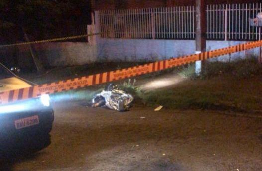 Mulher é assassinada com vários tiros e Campo Mourão registra o 1º homicídio do ano