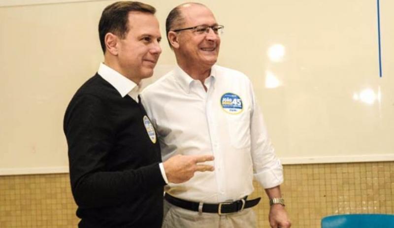 Por 2018, Alckmin e Doria planejam agendas conjuntas
