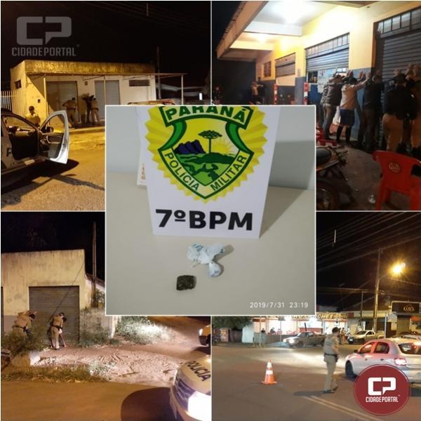 Polícia Militar de Goioerê desencadeia Operação Cidade Alerta