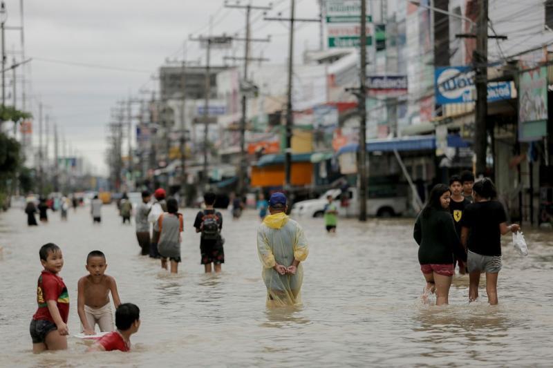 Inundações na Tailândia matam 11 pessoas