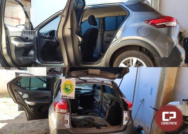 BPFron recupera veículo roubado no estado do Piauí