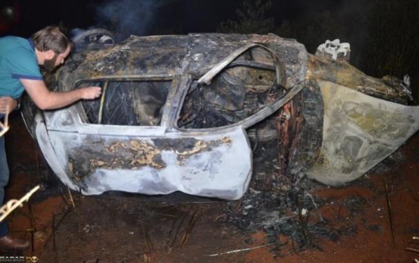 Homem morre queimado após carro capotar na BR 467