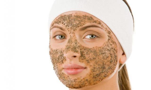 Máscara Esfoliante com Óleo de Argan para Pele