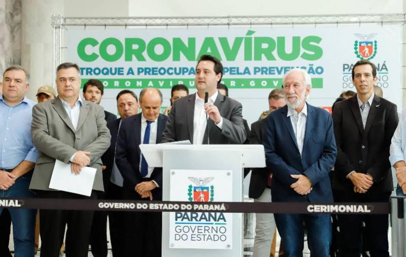 Paraná adota ações preventivas e reforça controle sobre o coronavírus