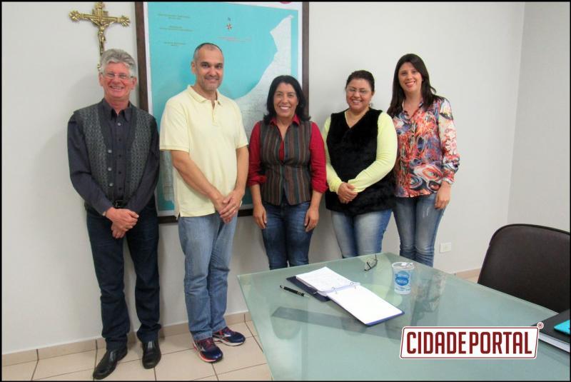 Professores da UEM do PROFCIAMB visitam a Prefeita Suely Alves Pereira em busca de CONVÊNIO