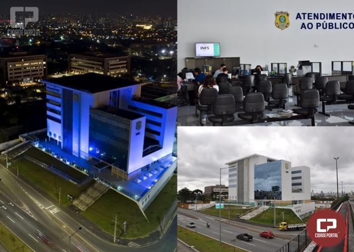 PRF suspende atendimento presencial em suas unidades no Paraná