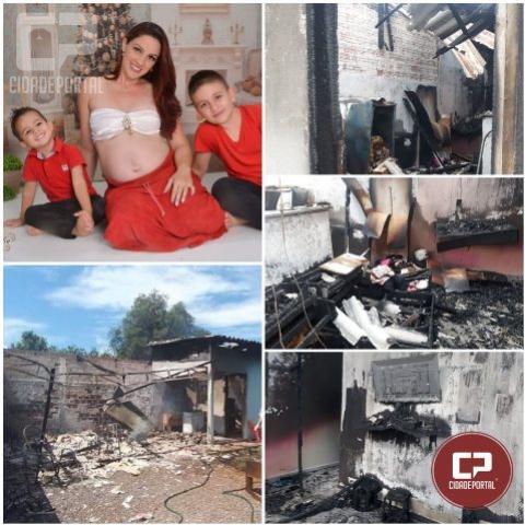 Feijoada Beneficente para ajudar mãe que perdeu casa em incêndio
