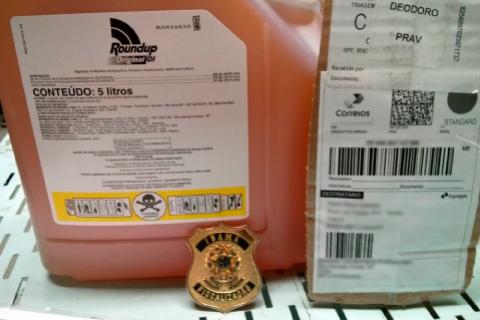 Operação Webcida combate venda irregular de agrotóxicos pela internet