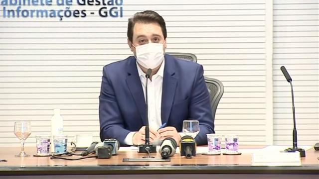 """Governo do Paraná determina """"Lockdown Regional"""" após videoconferência nesta terça-feira, 30"""