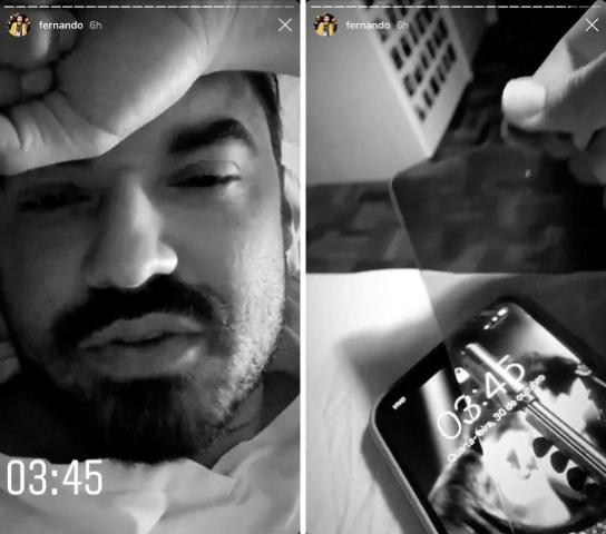 """Fernando Zor mexe no celular de Maiara e reclama: """"Está me irritando muito"""""""