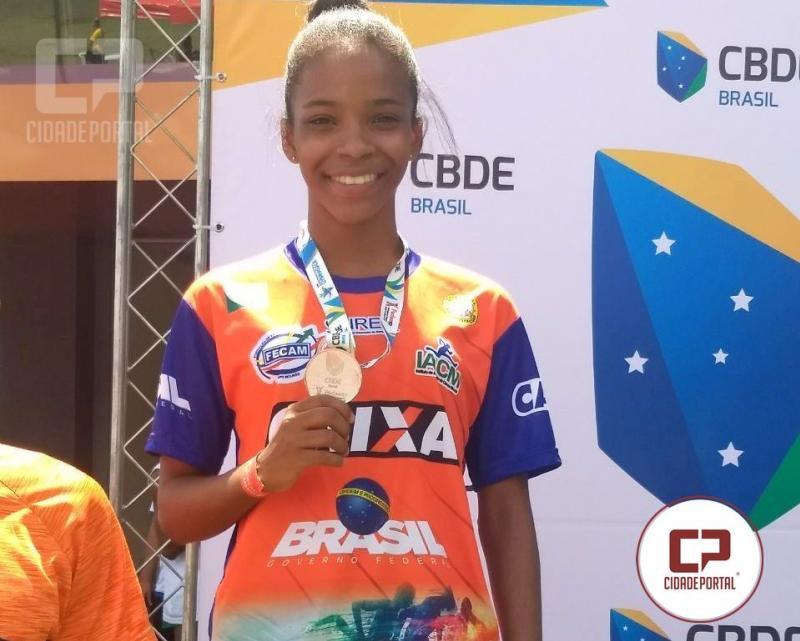 Moreira-Salense é convocada para representar o Brasil no Atletismo em Marrocos