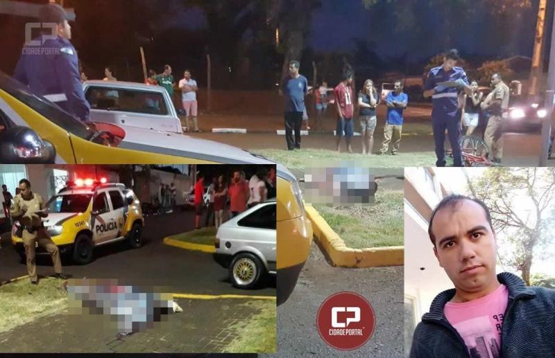 Tragédia em Ubiratã: Um pessoa perde a vida em acidente de trânsito nesta sexta-feira, 07