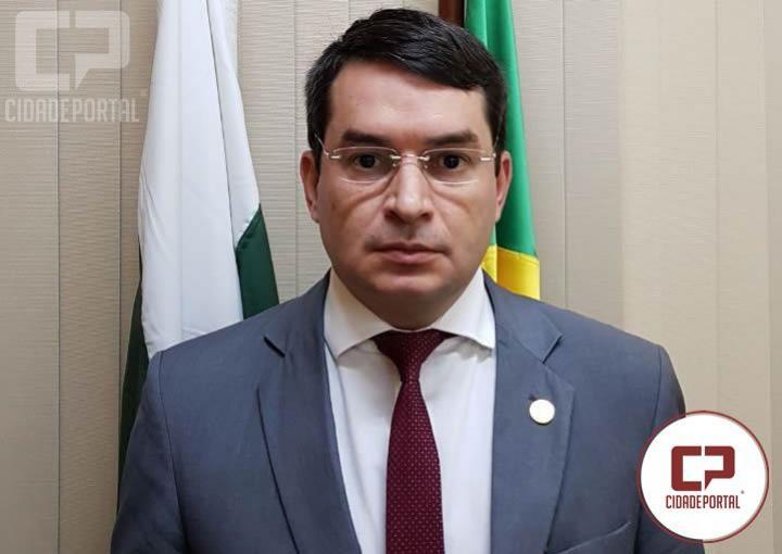 Juiz de Direito de Ubiratã Dr. Ferdinando S. Neto receberá Medalha Coronel Sarmento pela PMPR