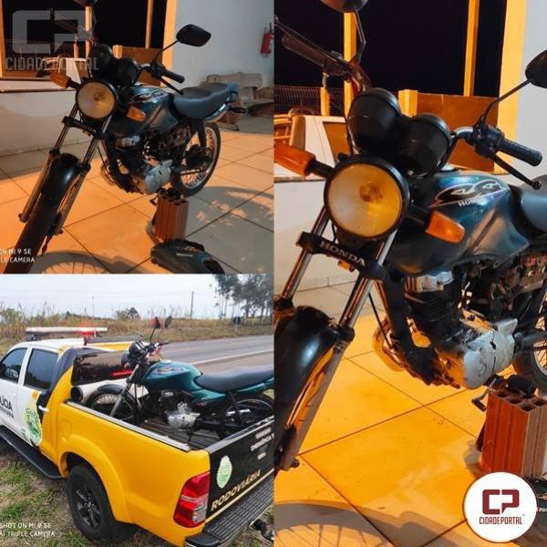 Posto Policial Rodoviário de Iporã apreende veículo com adulteração de sinais de identificação