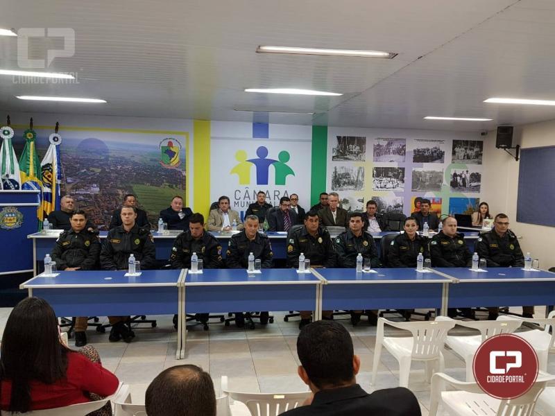 Policiais Militares recebem Menção Honrosa por atos de bravura em Douradina