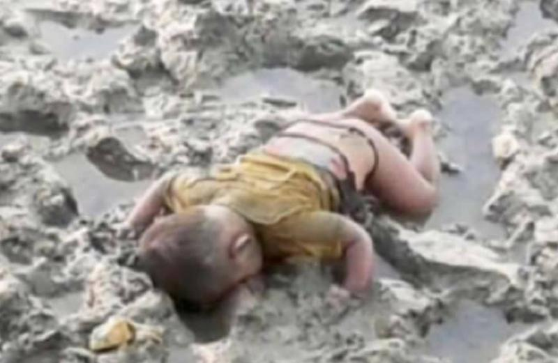 Foto de bebê morto em Mianmar provoca comoção internacional