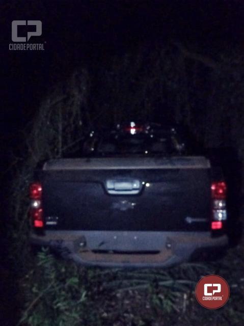 Policiais do 7º BPM recuperam caminhonete roubada em Paraná do Oeste
