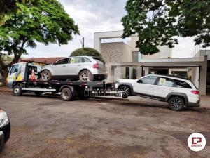 BPFRON apreende veículos carregados com cigarros contrabandeados em Mariluz