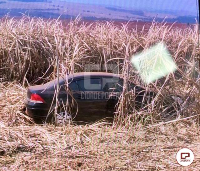 Polícia Militar de Mariluz encontra veículo abandonado em zona rural