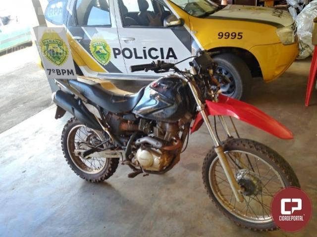 Policiais do 7ºBPM recuperam veículo furtado em Mariluz
