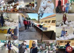 Escolas Estaduais do NRE de Goioerê entrega kits de alimentos da merenda escolar