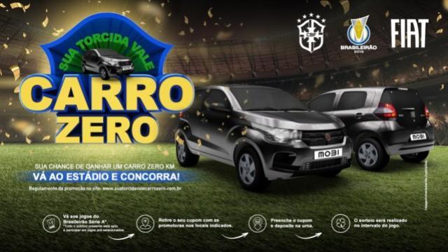 Brasileirão terá promoção com sorteio de carros para torcedores