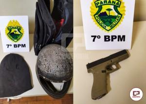 Polícia Militar age rápido e frustra tentativa de roubo em Mariluz