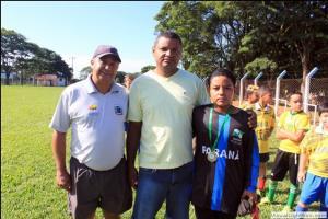 Departamento Municipal de esportes de Mariluz realizou as finais da 8ª Copa Garoto e Garota Nota 10 de Futebol de Campo